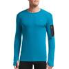 Icebreaker M's Apex Crewe LS Shirt Alpine/Carbon/Carbon